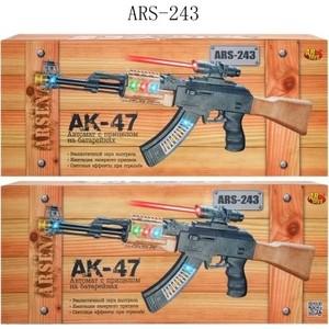 Abtoys Автомат Arsenal с прицелом, со световыми и звуковыми эффектами ARS-243 abtoys со стрелами на присосках