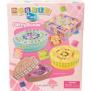Funnivation Мозаика Мои волшебные шкатулки, в наборе: 4 шкатулки для украшения, более 1000 деталей FM1411