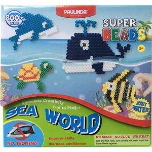 Paulinda Мозаика Подводный мир, более 800 деталей, без использования утюга 150011