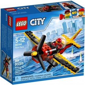 Конструктор Lego City Гоночный самолёт (60144)
