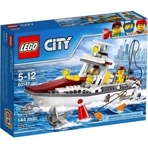 Конструктор Lego City Рыболовный катер (60147)