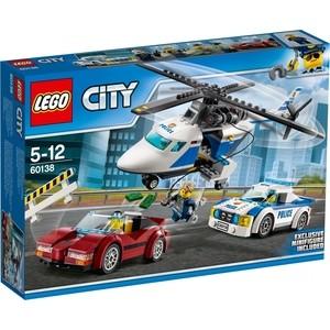 Конструктор Lego City Стремительная погоня (60138)