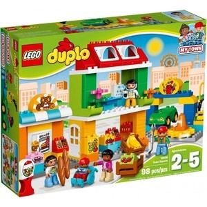 Конструктор Lego Duplo City Городская площадь (10836)