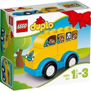 Конструктор Lego Duplo Мой первый автобус (10851) lego конструктор lego duplo мой первый игровой домик 10616