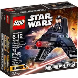 Lego Star Wars Микроистребитель Имперский шаттл Кренника (75163) lego lego звездные войны микроистребитель имперский шаттл кренника