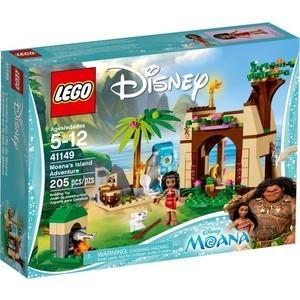 Конструктор Lego Disney Princesses Приключения Моаны на затерянном острове (41149)