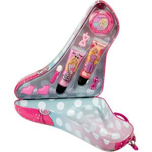 Markwins Barbie Игровой набор детской декоративной косметики в туфельке роз.