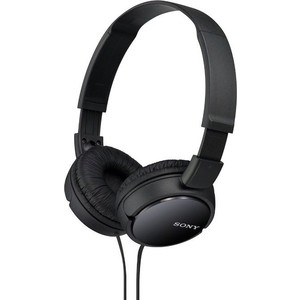 Наушники Sony MDR-ZX110 black sony mdr zx110 white