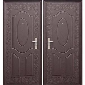 Дверь ЦИТАДЕЛЬ E40M входная 2050х960 металлическая Молотковая эмаль (правая)  berserker tt g 301 входная 2050х960 металлическая дуб белёный с терморазрывом правая