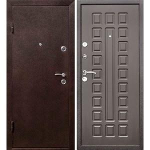 Дверь ЦИТАДЕЛЬ Йошкар входная 2050х960 металлическая Антик медь/Венге (правая)  berserker tt g 301 входная 2050х960 металлическая дуб белёный с терморазрывом правая
