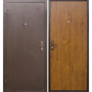 Дверь ЦИТАДЕЛЬ Стройгост 5-1 входная 2060х980 металлическая Золотистый дуб (правая)  berserker tt g 301 входная 2050х960 металлическая дуб белёный с терморазрывом правая
