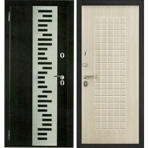 Дверь Berserker TT-G-301 входная 2050х860 металлическая Дуб белёный (с терморазрывом)(левая)  berserker tt g 301 входная 2050х960 металлическая дуб белёный с терморазрывом правая