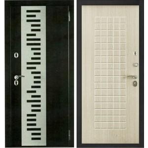 Дверь Berserker TT-G-301 входная 2050х960 металлическая Дуб белёный (с терморазрывом)(правая)  berserker tt g 301 входная 2050х960 металлическая дуб белёный с терморазрывом правая