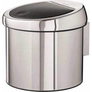 Ведро для мусора 3 л Brabantia Touch Bin (363962) полированная сталь bin feng page 3