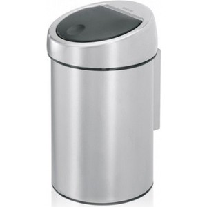 Ведро для мусора 3 л Brabantia Touch Bin (363986) матовая сталь