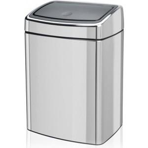 Ведро для мусора 10 л Brabantia Touch Bin (477201) полированная сталь ведро для мусора 10 л brabantia touch bin 477201 полированная сталь