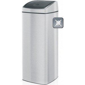 Мусорный бак 25 л Brabantia Touch Bin (384929) матовая сталь brabantia мусорный бак touch bin 30 л