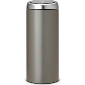 Ведро для мусора с педалью 10 л Brabantia (395628) полированная сталь