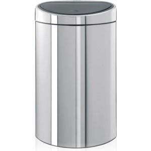 Мусорный бак 40 л Brabantia Touch Bin (348587) полированная сталь