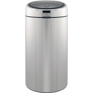 Мусорный бак 45 л Brabantia Touch Bin (390821) полированная сталь brabantia мусорный бак touch bin 30 л