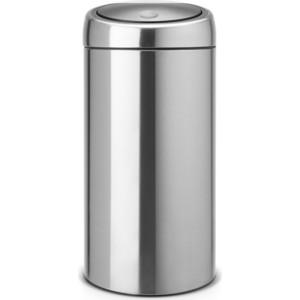 Мусорный бак 45 л Brabantia Touch Bin (390845) матовая сталь brabantia мусорный бак touch bin 30 л