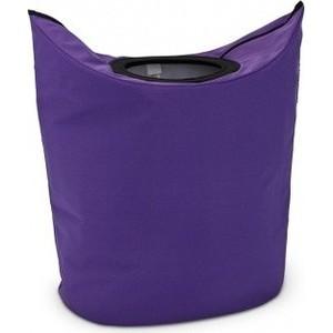Сумка для белья 55 л Brabantia (101168) фиолетовый сумка для белья brabantia цвет черный 101601