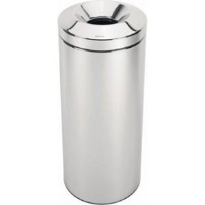 brabantia корзина для бумаг 181122 Несгораемая корзина для бумаг 30 л Brabantia (287527) полированная сталь