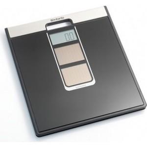 Весы Brabantia (481109) для ванной комнаты на солнечных батареях, черные гаджеты на солнечных батареях