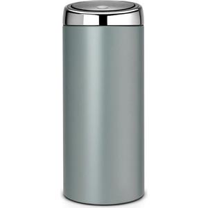Фотография товара мусорный бак 30 л Brabantia Touch Bin (484285) мятный металлик (612153)