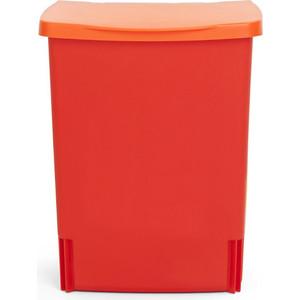Ведро для мусора 10 л встраиваемое Brabantia (482267) красный