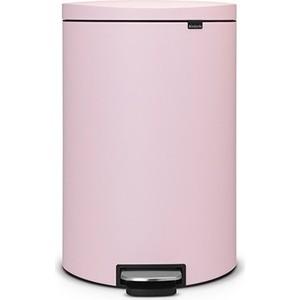 Мусорный бак с педалью 40 л FB Brabantia (103926) розовый brabantia мусорный бак flipbin 30 л белый