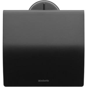 Держатель для туалетной бумаги Brabantia (483400) черный матовый brabantia держатель для туалетной бумаги