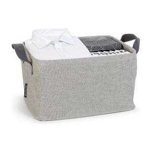 Складная корзина для белья Brabantia (105685) серый
