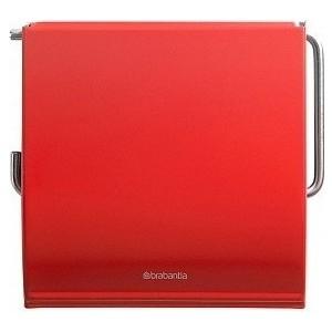 Держатель для туалетной бумаги Brabantia (107863) пламенно-красный держатели для туалетной бумаги brabantia держатель для туалетной бумаги черный