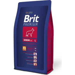 Сухой корм Brit Premium Senior L для пожилых собак крупных пород 3кг (132344)