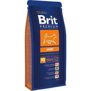 Сухой корм Brit Premium Sport для активных собак всех пород 18кг (132361) пудовъ мука ржаная обдирная 1 кг