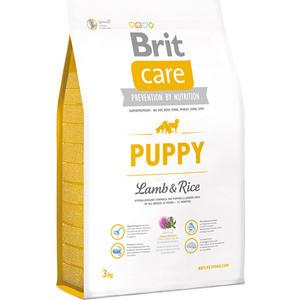 цена на Сухой корм Brit Care Puppy All Breed Lamb & Rice гипоаллергенный с ягненком и рисом для щенков и молодых собак всех пород 3кг (132701)