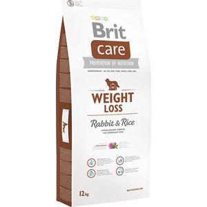 Сухой корм Brit Care Weight Loss Rabbit & Rice гипоаллергенный с кроликом и рисом для собак с избыточным весом 12кг (132736) сухой корм brit care dog endurance для активных собак утка с рисом 12кг