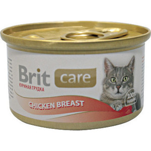 Консервы Brit Care Cat Chicken Breast с куриной грудкой для кошек 80г (100064) personal breast health scanner helps detect potential masses during in home breast self exams