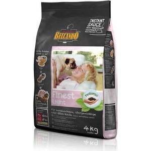 Сухой корм Belcando Finest Light для собак склонных к лишнему весу или пожилых собак мелких и средних пород 4кг (553715) корм сухой meradog light для взрослых собак склонных к лишнему весу 12 5 кг