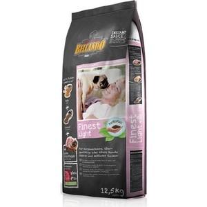 Сухой корм Belcando Finest Light для собак склонных к лишнему весу или пожилых собак мелких и средних пород 12,5кг (553725) корм сухой meradog light для взрослых собак склонных к лишнему весу 12 5 кг