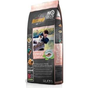 Сухой корм Belcando Finest Grain-Free Salmon беззерновой с лососем для собак мелких и средних пород 12,5кг (554725) цена
