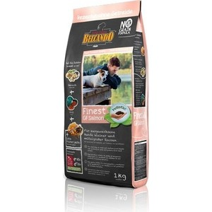 Сухой корм Belcando Finest Grain-Free Salmon беззерновой с лососем для собак мелких и средних пород 1кг (554705) цена