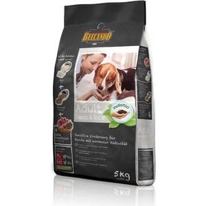 Сухой корм Belcando Adult Lamb & Rice с ягненком и рисом для собак склонных к аллергии 5кг (553915) корм belcando adult dinner 15kg для собак 553325