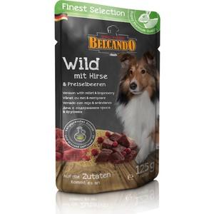 Паучи Belcando Finest Selection Venison with Millet & Lingoberry с дичью, просом и брусникой для собак 125г (511645)