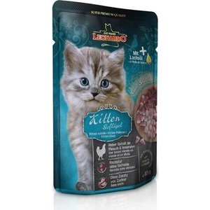 Паучи Leonardo Finest Selection Kitten Poultry с птицей для котят 85г (756309)