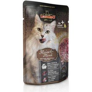 Паучи Leonardo Finest Selection Meat Menu мясное меню для кошек 85г (756349/756345)