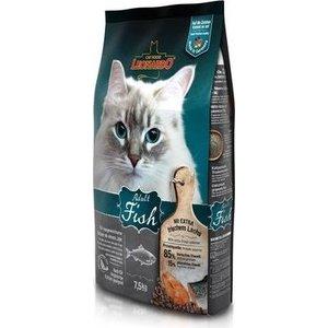Сухой корм Leonardo Adult Fish с рыбой для здоровья кожи и шерсти для кошек 7,5кг (758425/758422) пудовъ мука ржаная обдирная 1 кг