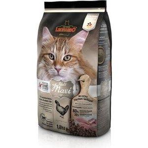 Сухой корм Leonardo Adult Maxi Grain Free беззерновой корм для кошек крупных пород 1,8кг (755245/758515) пудовъ мука ржаная обдирная 1 кг