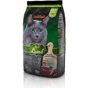 Сухой корм Leonardo Adult Lamb с ягнёнком для кошек с пищевой аллергией или проблемами ЖКТ 2кг (758219/755215)